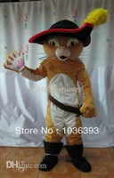 puss in boots the cat mascot costume advertising mascot suit carnival costume fancy dress costumes cartoon mascot party costumes