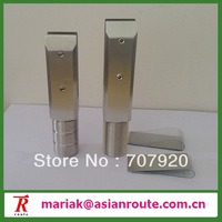 core drilled glass spigot