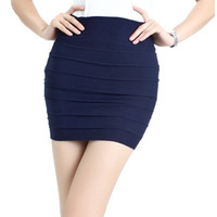2013 autumn and winter slim a-line skirt hip skirt short skirt high waist skirt bust skirt step female skirt bag skirt