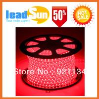 5M Cooper line 300Led Strip Light Rain/Water resistant 220V Flexible Led Lamp Strip SMD3528