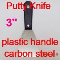 """SunRed black plstic handle carbon steel 3"""" Economy Putty Knife for construction worker  NO.SR-15 wholesale retail freeshipping"""