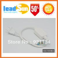 LED Strip Light Adapter Plug 220V for 1 to 50 Meters