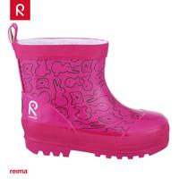 Reima clothing outdoor function type children's clothing multicolour rubber rainboots child rain boots