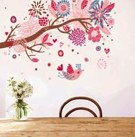 DIY Removable Art Vinyl Wall Stickers Decor Mural Decal Children room Growin Bohemia tree AY909