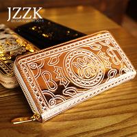 2014 new arrival Ultra-thin wallet female long design women's handbag silver gold women's day clutch handbag