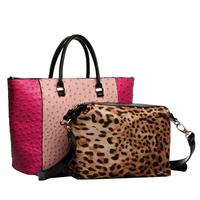 For oppo   casual ostrich grain handbag picture women's handbag new arrival 2014 beige pink