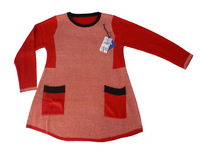 Ms wool fabric conventional red sweater fashion style