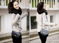 scarf muffler autumn and winter lovers thickening pullover muffler scarf female collars/ yellow/white/coffee/grey