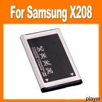 Free ship  800 mAh Battery for Samsung X208 SGH-X208 Lithium Ion Battery High Quality