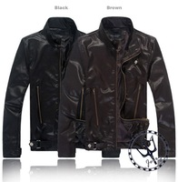 New  Motorcycle jackets PU leather Waterproof Breathable For harley