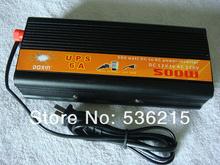 Ups uninterrupted power supply ups 500W power inverter 12V to 220V home inverter belt charge(China (Mainland))