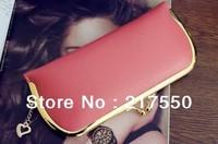 Free shipping Fashion Women Wallets PU change purses women's day clutch purse,card holder coin case