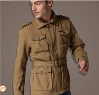 Men's winter jacket,men's thickening casual jacket overcoat, high quality  JC12911