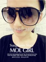 B16 2014 oversized sunglasses large black the box sunglasses star style sunglasses glasses  wholesale