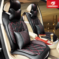 100% Genuine brand Four seasons car seat cushion quality PU wear-resistant seatpad four seasons general cushion