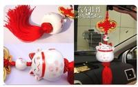 free shipping Car Bone China plutus cat car accessories pendan hot selling