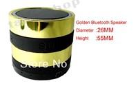 Best golden Bass Mini Portable Bluetooth Handsfree Wireless Speaker with FM Radio