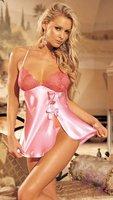 10%off New on sale Sexy lingerie chemise underwear ladies sleepwear nightwear women clubwear pink purple MZ6028