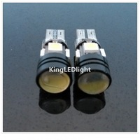 Free shipping 4pcs T10 W5W 5050 4smd + 1.5W Led Canbus Led Lamps No OBC Error canbus led T10 4smd 12V LED Bulbs