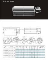 A60090-A60420AC cross flow fan/crossflowfan/draught fan/cross-flow fan