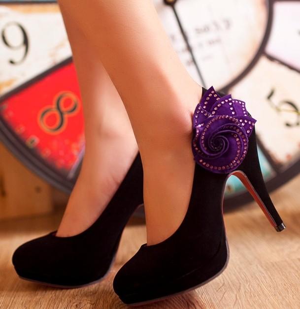 Orange Purple Wedding Shoes Black Purple Wedding Shoes