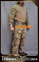 ALL WIN Trigger Multicam CP Combat GEN3 BDU Military Uniforms With Knee Pads+Free shipping(SKU12050226)