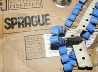 Roll sprague blue os-con 6.3v330uf polymer solid capacitors