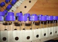 Original original box sanyo 's top solid capacitor 4v330uf polymer 10 5 105