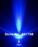 Free shipping 5MM White luminous blue Highlight Light tube LED Light-emitting diodes Super bright