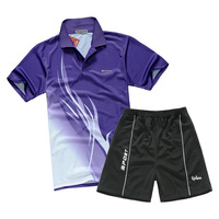 Jersey cool air badminton big boy uniforms set adult male table tennis ball