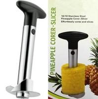 Fruit Pineapple Corer Slicer Peeler Cutter Parer Knife Kitchen Tool Stainless[210118]