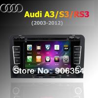 2DIN Car Radio DVD GPS Autoradio Navigation 3G for Audi A3 free shipping