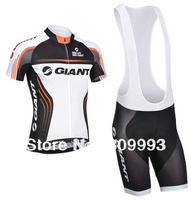2014 Newest CB14011 Giant Hot  Selling Summer Racing Jersey(Maillot)/Bib Short(Culot)/Cycle Jackets/Some Sizes/Italy Ink