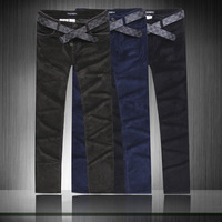 Free shipping new 2013 winter pants men thin male casual pants slim straight casual long trousers outdoors man trousers