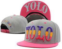 High Quality YOLO Hip Hop Hats For Men Women's Sun Hat Cheap Letter Baseball Cap Free Shipping