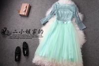 Lovale Secret - 2014 spring ladies small women's hepburn dress one-piece dress  free shipping