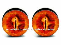 Wholesale 60pcs body piercing Solomon 's Eye acrylic screw fit ear plug gauge flesh tunnel mix 6mm-25mm A0133