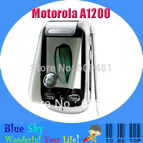 Refurbished Unlocked cell phone Motorola A1200 mobile 2.0MP Camera Touchscreen Screen FM Radio MP3 MP4 Player(China (Mainland))