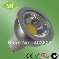 wholesaler dimmable 220v cob GU10 5W 3000K LED spotlight
