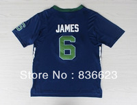 Free shipping - New Material #6 LeBron James 2014 All Star Men's Basketball Jersey Embroidery logos size: S-XXXL