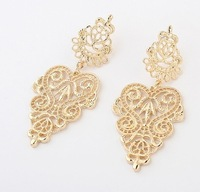 Min order $10(mix order)Free Shipping!Europe and the United States of Bohemia all-match Pierced Earrings
