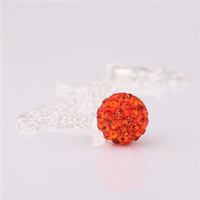Fashion Jewelry Shamballa Necklace New Tresor Paris Allure CZ Disco Ball Bead wzdg bmrc