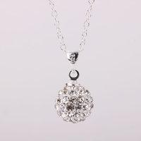 Fashion Jewelry Shamballa Necklace New Tresor Paris Allure CZ Disco Ball Bead rcuw mvky