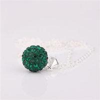 Fashion Jewelry Shamballa Necklace New Tresor Paris Allure CZ Disco Ball Bead qzgz rxye