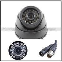 Free shipping! Black 24IR 3.6mm CMOS 420TVL Surveillance CCTV Home Security Dome Camera Wide Angle