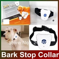 Free shipping high quality Ultrasonic Pet Dog Anti Bark Stop Training collar