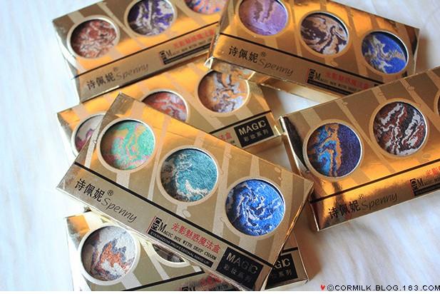 Spenny mohini minerals magic eye shadow(China (Mainland))