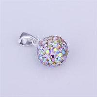 Fashion Jewelry Shamballa Necklace New Tresor Paris Allure CZ Disco Ball Bead owit lvhv