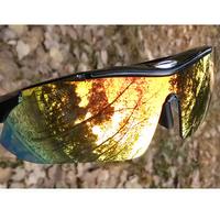 2014 Limited Rushed Men Bicycle 0089 Riding Eyewear Sunglasses Colorful Revo Lens Belt Box Myopia