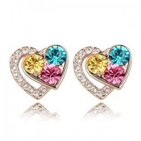 Crystal accessories popular stud earring crystal earrings a30 crystal earring